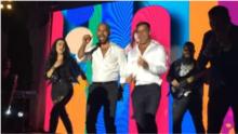 Ricky Martin revive a Menudo... en la boda de Eva Longoria