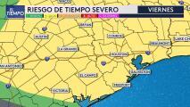 Riesgo de tormentas severas para este viernes en Houston y podría caer granizo