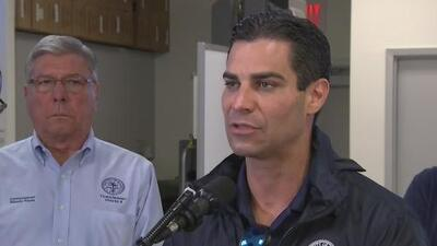 """""""Nos enfocamos en ampliar la seguridad"""": alcalde de Miami sobre preparativos ante la llegada de Dorian"""