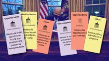 Interactivo: ¿conoces las acciones ejecutivas en inmigración de Biden? Te las resumimos