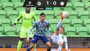 Ajax pierde el invicto con Edson Álvarez ante el Groningen