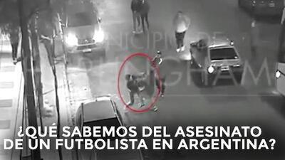 ¿Qué sabemos del asesinato de un futbolista en Argentina?