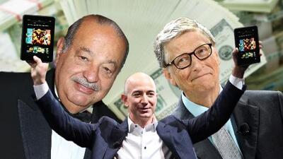 Estos son los hombres más ricos del mundo, según la Revista Forbes