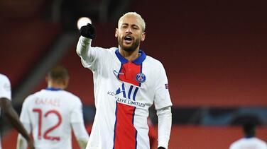 PSG desactiva a Neymar pensando en la Champions League