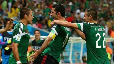 A México no le tiemblan las piernas y vence a Croacia