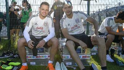 Si la Copa Oro fuera mañana: ¿'Chicharito' Hernández o Raúl Jiménez?