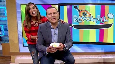 Huevitos para Alan: Karla le preparó un desayuno muy especial a su amigo Alan Tacher