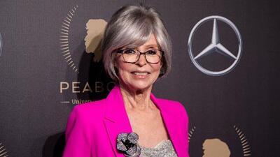 A los 87 años, Rita Moreno se convierte en la primera latina en alcanzar el estatus 'Pegot'