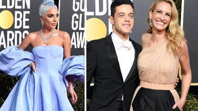 Lady Gaga, Julia Roberts y otras celebridades que deslumbraron con su look en los Globos de Oro 2019
