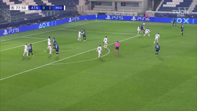 ¡Gol de Atalanta! Romero salvó el ridículo al poner el 1-1 ante FC Midtjylland