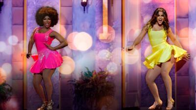 El reto del merengue: Amara enfrenta en la pista de MQB All Stars a Clarissa y....