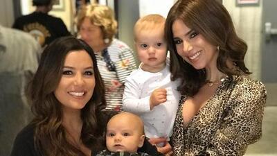Roselyn Sánchez se derrite de ternura por el bebé de Eva Longoria y así habla del pequeño