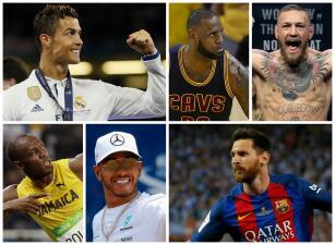 Los 25 deportistas que más dinero ganan en el mundo en este 2017
