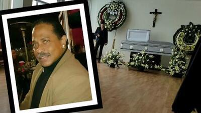 Así fue el discreto y privado funeral del villano Rudy Casanova