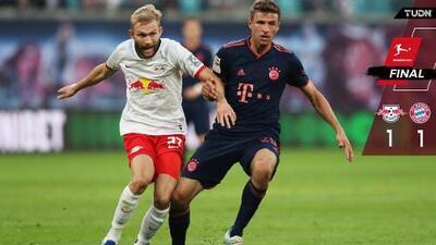 Bayern tuvo el liderato en sus manos, pero Leipzig lo retomó