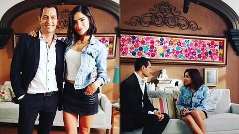 Las primeras imágenes de Alejandra Espinoza haciendo casting para la nueva versión de 'Rubí'
