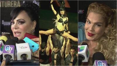 Susana González, Niurka Marcos y Maribel Guardia coinciden en el estreno de 'Aventurera' y tienen que ver lo que pasó
