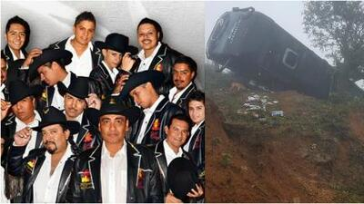 Un árbol salva de la muerte a los integrantes de una de las bandas más populares de México