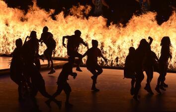 Espectacular inauguración de los Juegos Panamericanos en Toronto