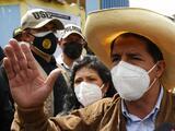 Pedro Castillo lidera con 100% de actas procesadas en Perú, pero aún no hay ganador oficial