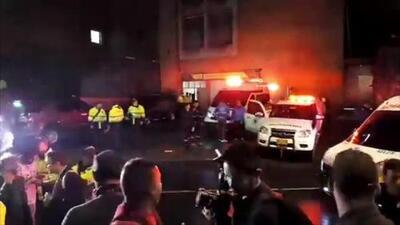 Imágenes de la escena del atentado en un centro comercial de Bogotá que dejó tres muertos