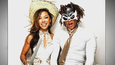 ¡Que qué! Jaden Smith se vistió de 'Batman' blanco para su prom