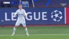 Gran disparo de Parolo y Lazio ya amplió sobre el Zenit
