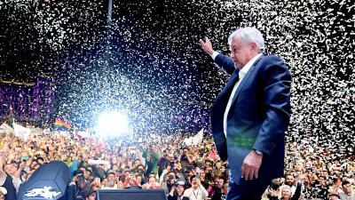 En fotos: AMLO habla al país después de ser reconocido como nuevo presidente de México