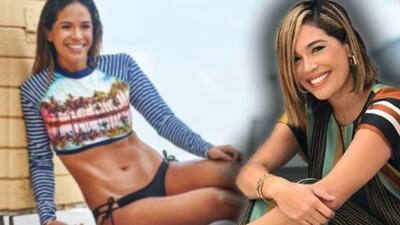 La sesión de fotos en bikini que hizo sentir a Karla Martínez como de 20