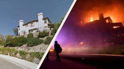 Fotos interactivas: decenas de casas y mansiones quedan destruidas por el fuego cerca de Los Ángeles