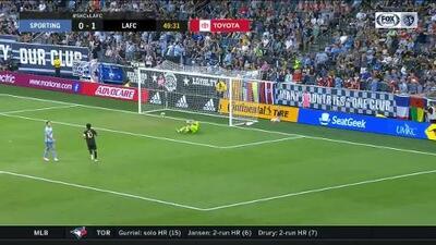 Diego Rossi marca una joya de pierna derecha y LAFC aumenta ventaja sobre Sporting KC