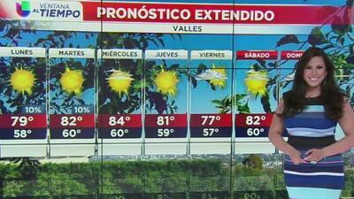 Pronostican un lunes fresco en Los Ángeles con leve probabilidad de lluvia