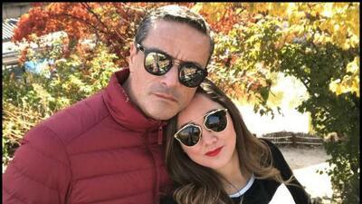 """""""Mis hijas la adoran"""": así zanja el prometido de Sherlyn rumores de ruptura"""