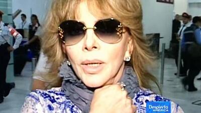 Verónica Castro se fue a operar a Argentina, ¡entérate de qué!
