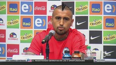Arturo Vidal: 'La Copa América que ganamos nosotros la defenderemos en el 2019'