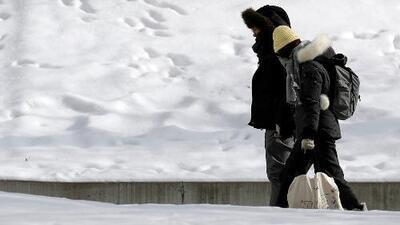 Este miércoles 20 de febrero amanecemos con mal tiempo en Chicago por tormenta invernal