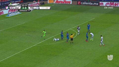 ¡Expulsión! El árbitro saca la roja directa a Pablo Aguilar
