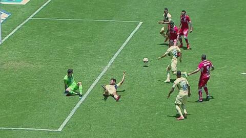 Alexis Canelo empató 2-2 el juego para Toluca