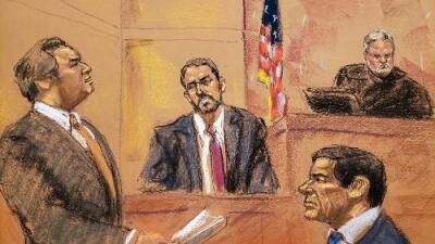 """Juicio a 'El Chapo': la abismal diferencia entre los 56 testigos de la Fiscalía contra el único """"a favor"""" del capo"""