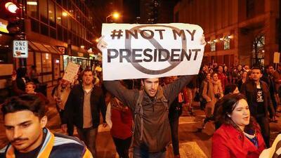 La policía de Nueva York arresta a 68 personas en las protestas contra Donald Trump