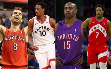 Estos son los 10 jugadores históricos de la franquicia de los Toronto Raptors