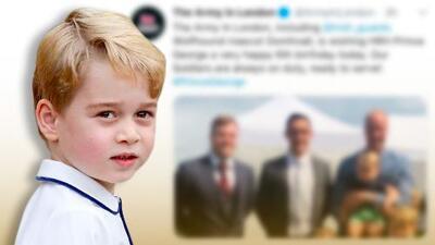 El príncipe George recibe una felicitación única en su cumpleaños y ya se prepara la fiesta por sus 6 primaveras