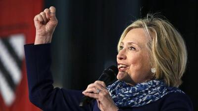 Hillary Clinton anuncia que no se postulará nuevamente a la presidencia