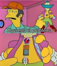 La goliza a México, en memes