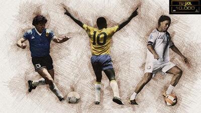 De Pelé y hasta Ronaldinho: las estrellas que contribuyeron para los casi 10 mil goles en el Azteca