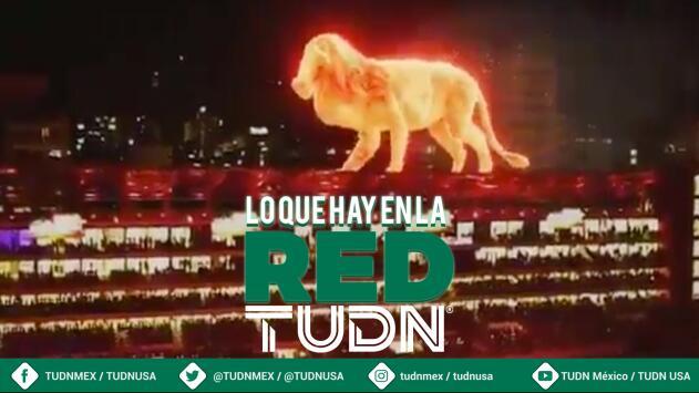 ¡Impresionante león de fuego en Argentina!