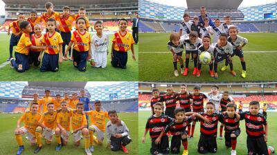 Los niños se toman el inicio de la Jornada 16 del Clausura 2019