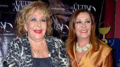 Sylvia Pasquel aclara si es verdad que no visitó a su madre en el hospital como lo dijo Alejandra Guzmán