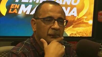Abel Nazario da su numero de teléfono al aire para pedir dinero para su defensa