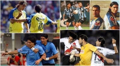El 'loco' Abreu ha compartido cancha con grandes futbolistas en la historia